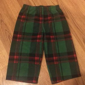 24m Carter's Fleece Pajama Pants